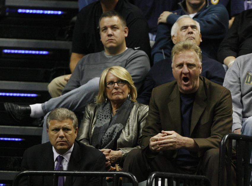 Larry Bird Leading Pacers With Familiar Mentality