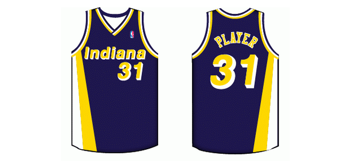 a88edba7e Ranking the Best Indiana Pacers Jerseys