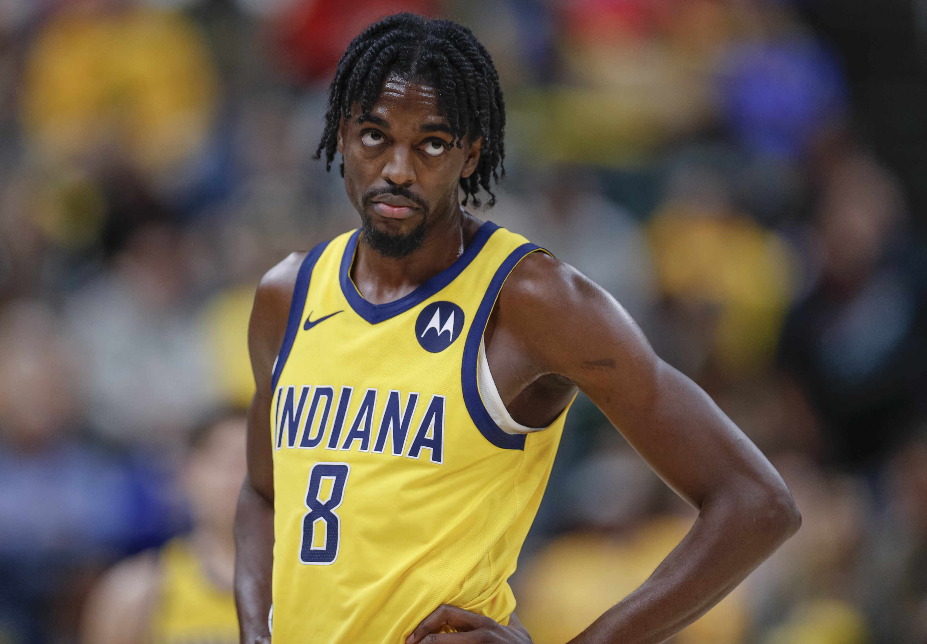 Justin Holidays' impact on the Indiana Pacers this season