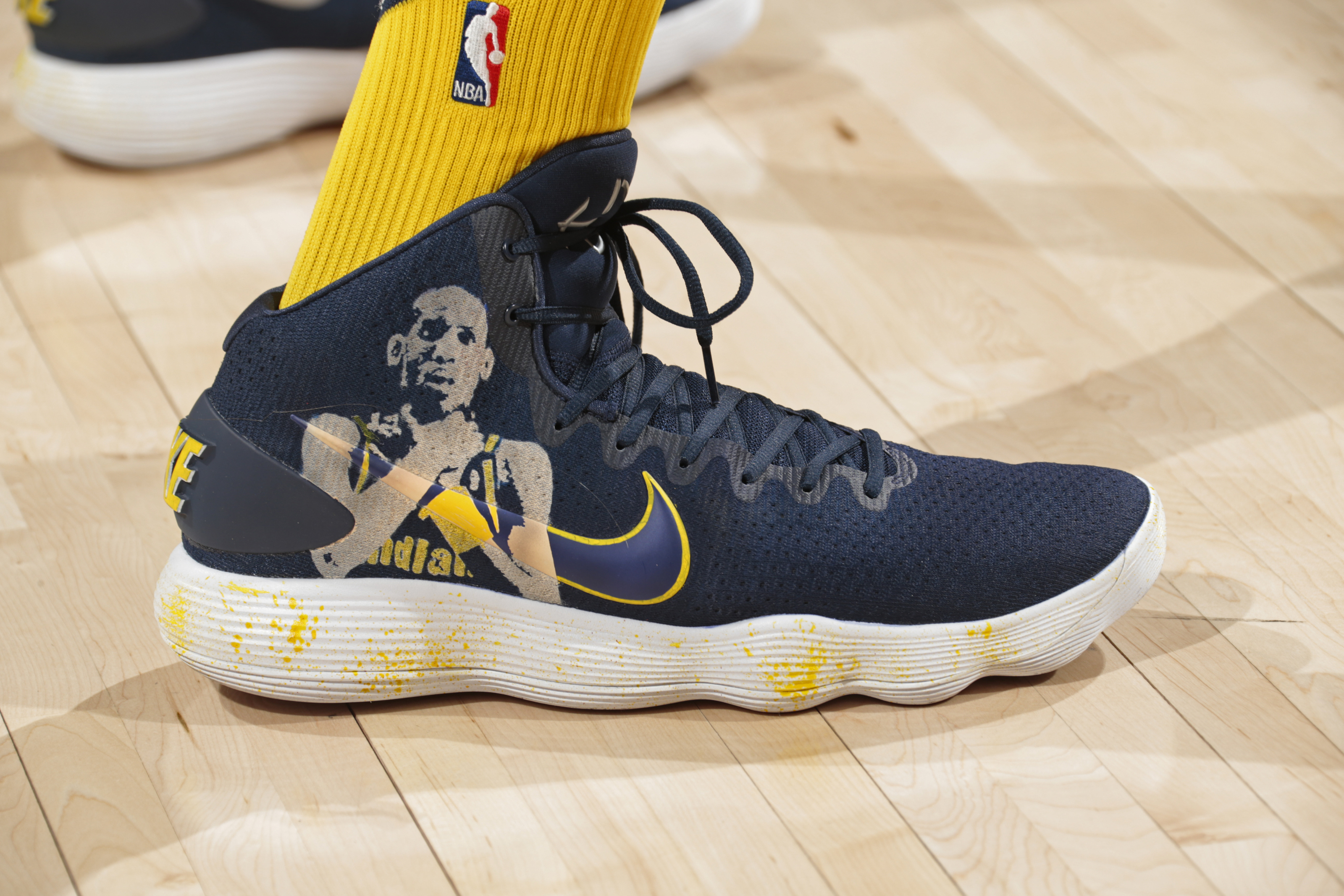 Shoe Styles on the Indiana Pacers